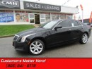 Used 2014 Cadillac ATS 2.0 Turbo  AWD, LEATHER, HEATED SEATS, BLUETOOTH for sale in St Catharines, ON