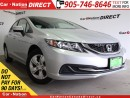 Used 2015 Honda Civic LX| HEATED SEATS| ONE PRICE INTEGRITY| for sale in Burlington, ON