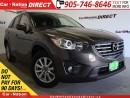 Used 2016 Mazda CX-5 GS| NAVI| SUNROOF| BACK UP CAMERA| for sale in Burlington, ON