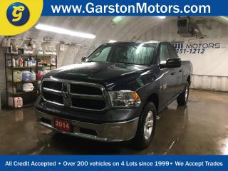 Used 2014 Dodge Ram 1500 QUAD CAB*TONNEAU COVER*ALLOYS*HITCH RECEIVER w/PIN CONNECTOR*4x4*KEYLESS ENTRY*CRUISE CONTROL*TRACTION CONTROL*POWER WINDOWS/LOCKS/HEATED MIRRORS*TOW/HAUL MODE*AM/FM/XM/AUX/USB* for sale in Cambridge, ON