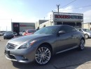 Used 2013 Infiniti G37 XS - 2 DR - NAVI - REVERSE CAM for sale in Oakville, ON