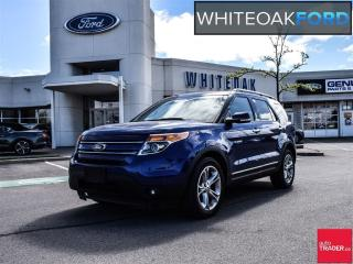 Used 2015 Ford Explorer Limited, navi, roof, trailer tow for sale in Mississauga, ON
