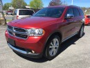 Used 2013 Dodge Durango Crew Plus for sale in Cobourg, ON