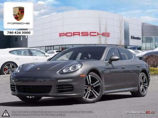 Used 2015 Porsche Panamera CERTIFIED PRE-OWNED | Premium PLUS | Surround View Cameras | Sport Chrono PKG for sale in Edmonton, AB