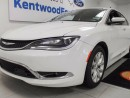 Used 2015 Chrysler 200 200C with leather heated seats, NAV, sunroof, back up cam and push start! for sale in Edmonton, AB