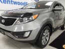 Used 2015 Kia Sportage LX manual with heated front seat! She's a true beaut for sale in Edmonton, AB