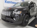 Used 2015 Jeep Compass Sport 4x4 High Altitude with heated seats and a sunroof for sale in Edmonton, AB