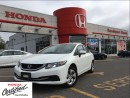 Used 2014 Honda Civic Sedan LX, original Roadsport car, clean carproof for sale in Scarborough, ON