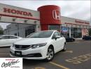 Used 2014 Honda Civic Sedan LX, original Roadsport car, clean carproof for sale in Scarborough, ON