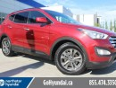 Used 2013 Hyundai Santa Fe Sport Heated Seats heated steering wheel LOW KM for sale in Edmonton, AB
