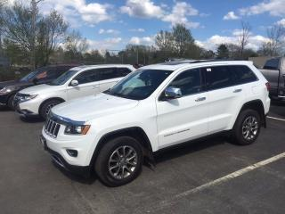 Used 2014 Jeep Grand Cherokee WOW! LIMITED LOADED for sale in Halifax, NS