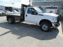 Used 2015 Ford F-350 Reg Cab 4x4 gas Chassis  12 ft steel flat deck for sale in Richmond Hill, ON