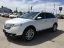 Used 2014 Lincoln MKX LUXURY * AWD * LEATHER * NAV * REAR CAM * PAN SUNROOF * BLUETOOTH for sale in London, ON