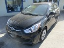 Used 2016 Hyundai Accent POWER EQUIPPED SE EDITION 5 PASSENGER 1.6L - DOHC.. HEATED SEATS.. CD/AUX/USB INPUT.. ACTIVE-ECO PACKAGE.. for sale in Bradford, ON