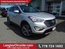 Used 2015 Hyundai Santa Fe XL Limited ACCIDENT FREE w/ ALL-WHEEL DRIVE, LEATHER UPHOLSTERY & PANORAMIC SUNROOF for sale in Surrey, BC