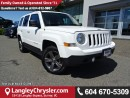 Used 2015 Jeep Patriot Sport/North ACCIDENT FREE w/ 4X4, LEATHER UPHOLSTERY & SUNROOF for sale in Surrey, BC