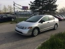 Used 2007 Honda Civic AUTO,186KM,SAFETY+3YEARS WARRANTY INCLUDED for sale in North York, ON