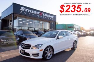 Used 2014 Mercedes-Benz C 350 C350| BLUETOOTH| CAMERA| ACCIDENT FREE| PANO ROOF for sale in Markham, ON