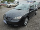 Used 2007 Mazda MAZDA3 GL for sale in Brantford, ON