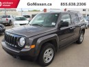 Used 2016 Jeep Patriot Sport, Remote Entry, Great on gas.. for sale in Edmonton, AB