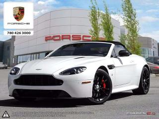 Used 2014 Aston Martin V8 Vantage S RARE Vantage! | Convertible | Full Red Leather | MINT! for sale in Edmonton, AB
