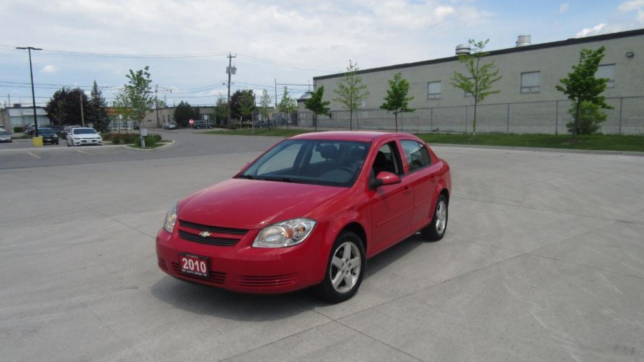 Photo of Red 2010 Chevrolet Cobalt 4 door, Only 102000, cerify, Auto, 3 years warrant