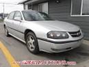 Used 2002 Chevrolet IMPALA LS 4D SEDAN for sale in Calgary, AB