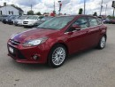 Used 2014 Ford FOCUS TITANIUM * LEATHER * NAV * REAR CAM * 1OWNER * SUNROOF * BLUETOOTH for sale in London, ON