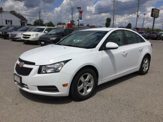 Used 2013 Chevrolet CRUZE 2LT * LEATHER * REAR CAM * BLUETOOTH * LOW KM for sale in London, ON