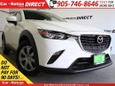 Used 2016 Mazda CX-3 GX| LOW KM'S| PUSH START| OPEN SUNDAYS| for sale in Burlington, ON