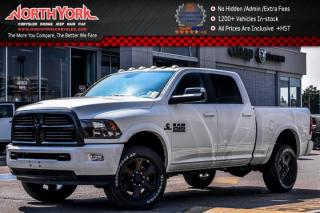 New 2017 Dodge Ram 2500 New Car SLT Night Edition|4x4|Diesel|Crew|Protect.,Snowplow,LuxuryPkgs| for sale in Thornhill, ON