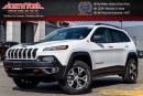 New 2017 Jeep Cherokee NEW CAR Trailhawk|4x4|SafetyTecPkg|BackUpCam|PkAsst.|Leather|17