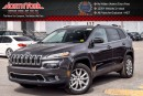 New 2017 Jeep Cherokee NEW CAR Limited|4x4|V6|SafetyTecPkg|Sunroof|Nav|Uconnect8.4|18