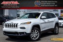 New 2017 Jeep Cherokee NEW CAR Limited|4x4|SafetyTecPkg|Sunroof|BackUpCam|R-Start|18