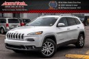 New 2017 Jeep Cherokee NEW CAR Limited|4x4|V6|Uconnect8.4|Nav|BackUpCam|Leather|18