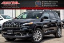 New 2017 Jeep Cherokee NEW CAR Limited|4x4|V6|SafetyTec,Tech,LuxuryPkgs|Sunroof|Nav|18