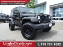 Used 2016 Jeep Wrangler SPORT for sale in Surrey, BC