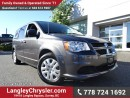 Used 2016 Dodge Grand Caravan SE/SXT W/ U-CONNECT BLUETOOTH & STOW N GO SEATS for sale in Surrey, BC