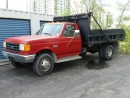 Used 1988 Ford F-450 Diesel Dump Truck for sale in Barrie, ON