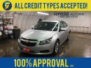 Used 2014 Chevrolet Cruze 1LT*KEYLESS ENTRY*CRUISE CONTROL*ON STAR PHONE CONNECT*AM/FM/XM/CD/AUX*POWER WINDOWS/LOCKS/MIRRORS* for sale in Cambridge, ON