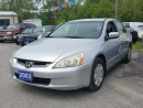 Used 2003 Honda Accord Sdn LX-G,certified for sale in Oshawa, ON