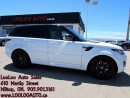 Used 2016 Land Rover Range Rover V8 Supercharged Dynamic Certified for sale in Milton, ON