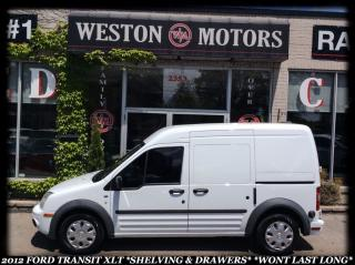 Used 2012 Ford Transit Connect XLT *SHELVING & DRAWERS *WONT LAST LONG!!! for sale in York, ON