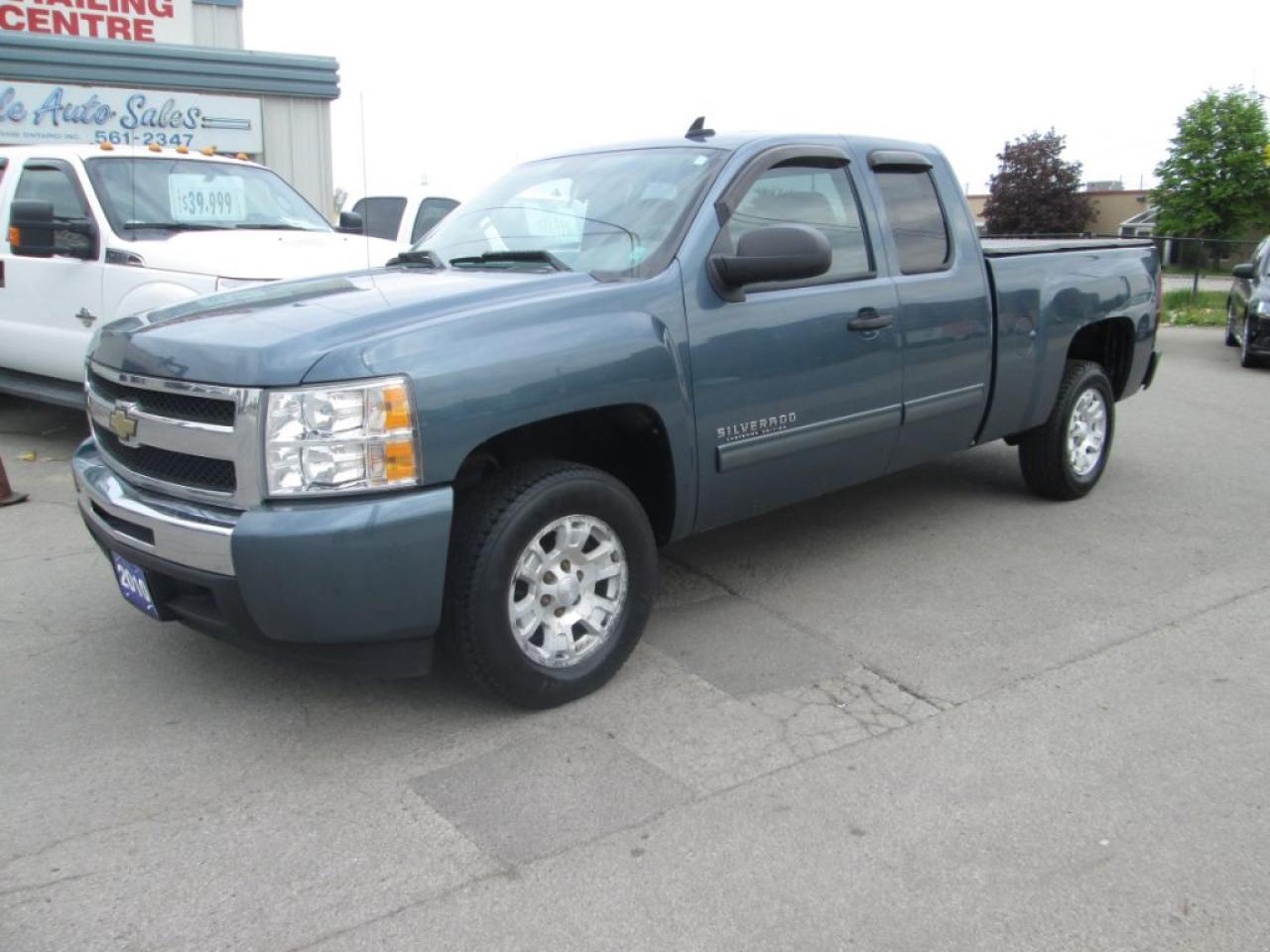 Photo of Blue 2010 Chevrolet Silverado 1500