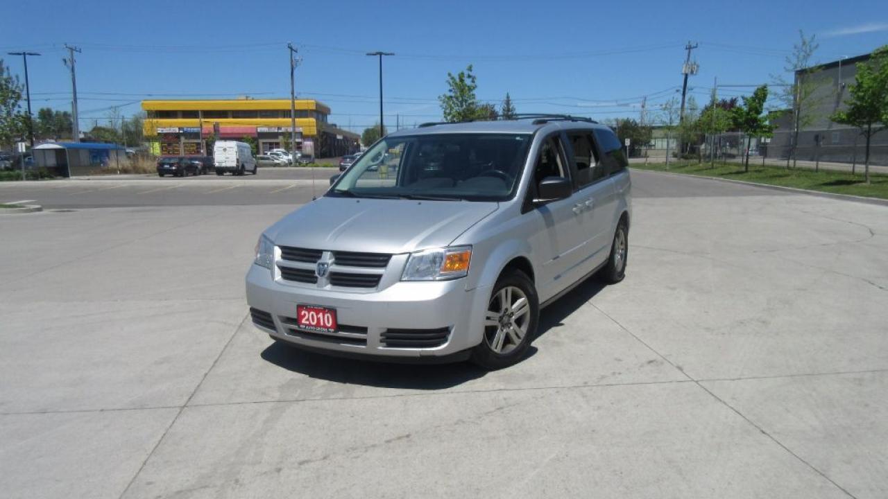 Photo of Silver 2010 Dodge Grand Caravan Stow & Go, 7 passenger, Automatic, Low Km, 3/Y war