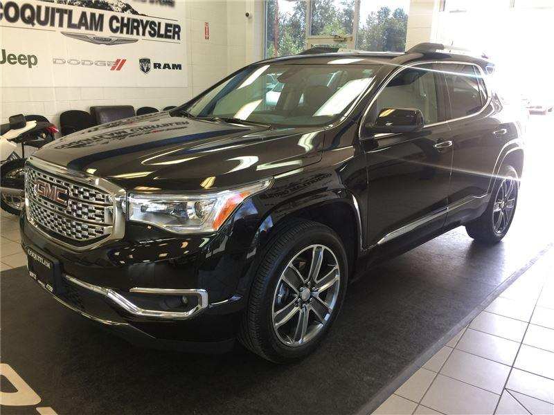 used 2017 gmc acadia denali for sale in coquitlam british columbia. Black Bedroom Furniture Sets. Home Design Ideas