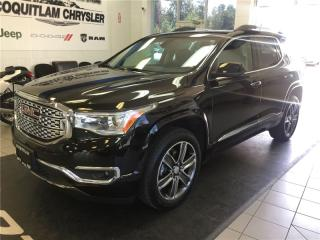 Used 2017 GMC Acadia Denali for sale in Coquitlam, BC