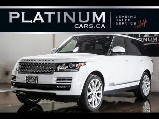 Used 2015 Land Rover Range Rover SUPERCHARGED V8, NAVI, PANO, CAM, HEATED F/R SEATS for sale in North York, ON
