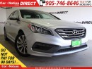 Used 2016 Hyundai Sonata Sport| PANO ROOF| LEATHER-TRIMMED SEATS| for sale in Burlington, ON