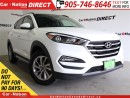 Used 2017 Hyundai Tucson | AWD| LEATHER| PANO ROOF| BACK UP CAMERA| for sale in Burlington, ON